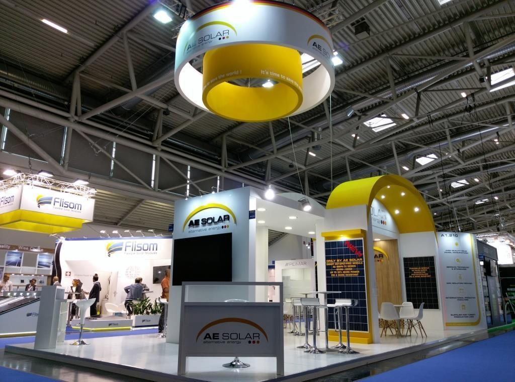 AE Solar, Intersolar 2017