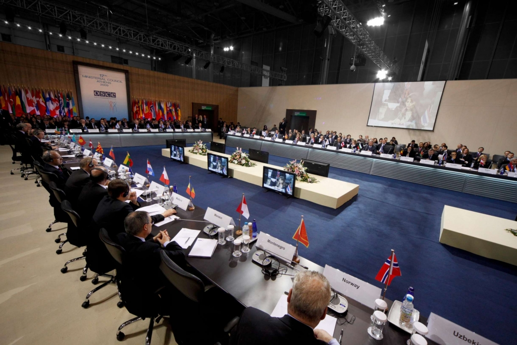 OSCE -MINISTERIAL COUNCIL -ATHENS